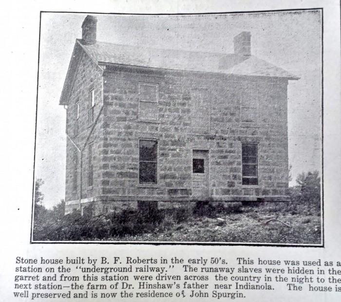 Roberts - BF stone home